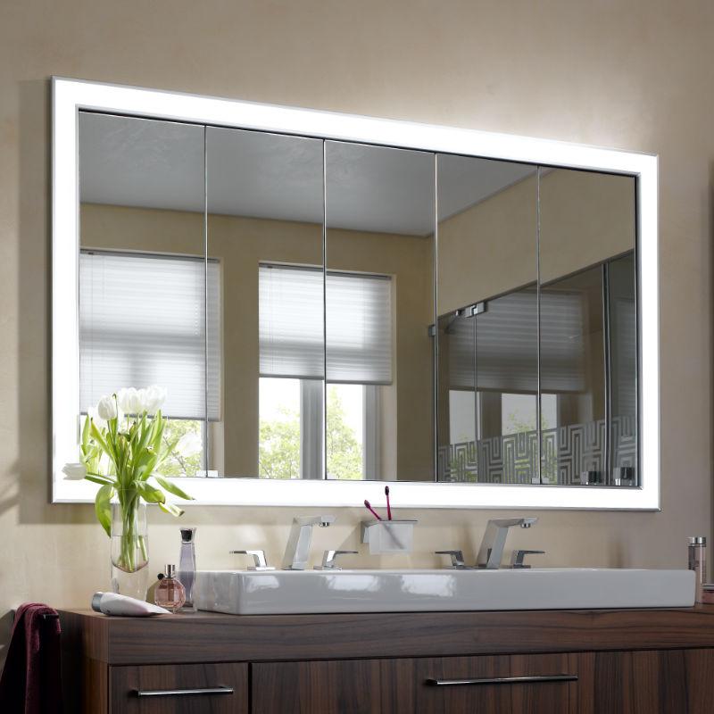 Spiegelschrank für Nischenbau